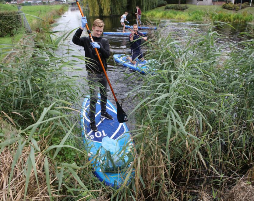 Ruim 650 kilometer aan Friese wateren opgeruimd tijdens Skjin Wetter 2020
